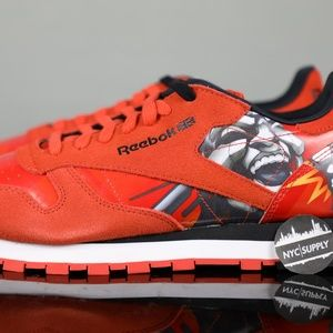 Reebok Classic Leather R12 Totem Orange Black